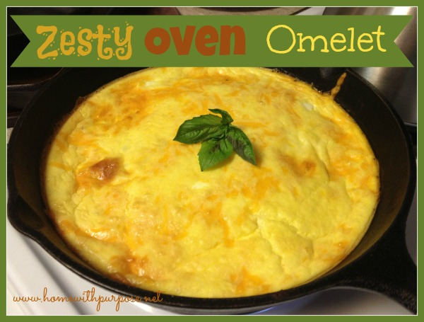 Zesty Oven Omelet: A Simple, Hearty Breakfast