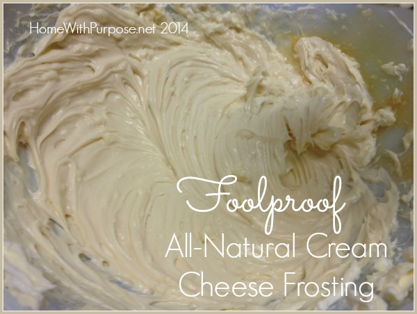 Foolproof All-Natural Cream Cheese Frosting