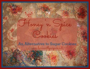 Honey 'n Spice Cookies: An Alternative to Sugar Cookies