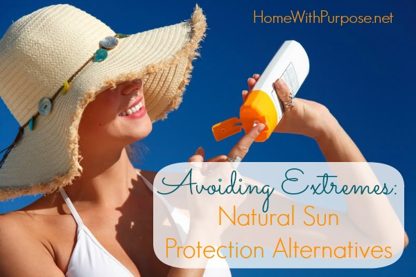 Natural Sun Protection Alternatives