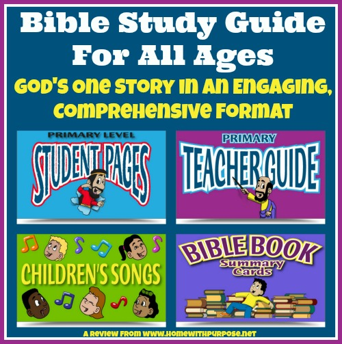 Bible Study Guide For All Ages: God's One Story in an Engaging Comprehensive Format (A Review From www.homewithpurpose.net)