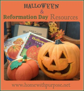 Halloween & Reformation Day Resources