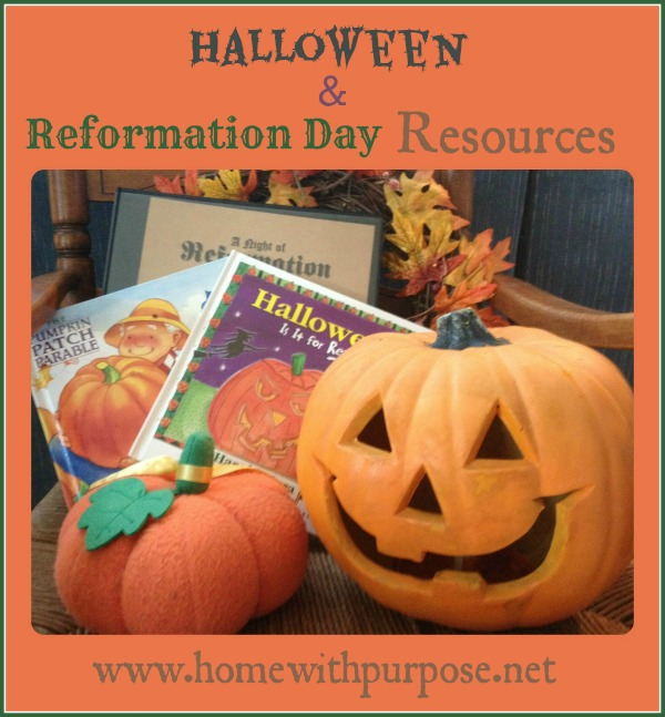 Halloween and Reformation Day Resources