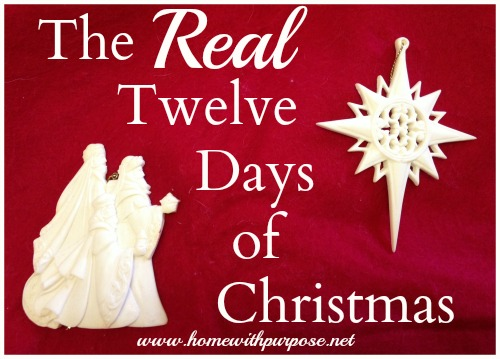 Epiphany is Here! (The REAL Twelve Days of Christmas)
