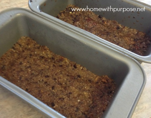 protein bars in pans