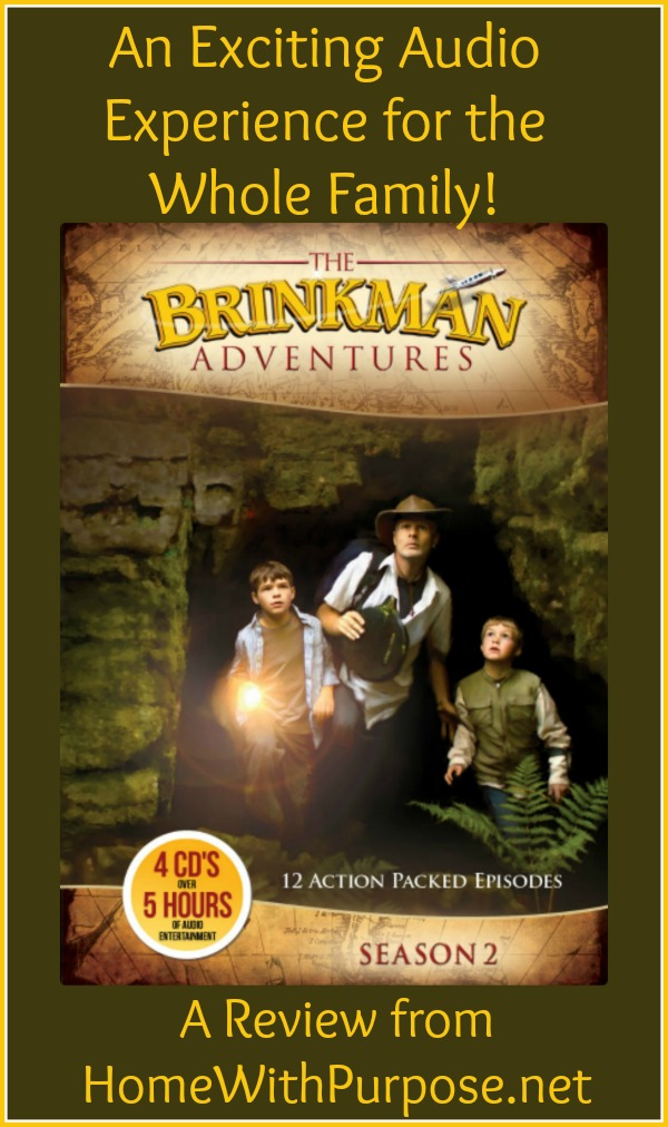 The Brinkman Adventures: An Exciting Audio Experience for the Whole Family!