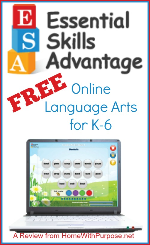 Essential Skills Advantage: Comprehensive, FREE Language Arts for K-6