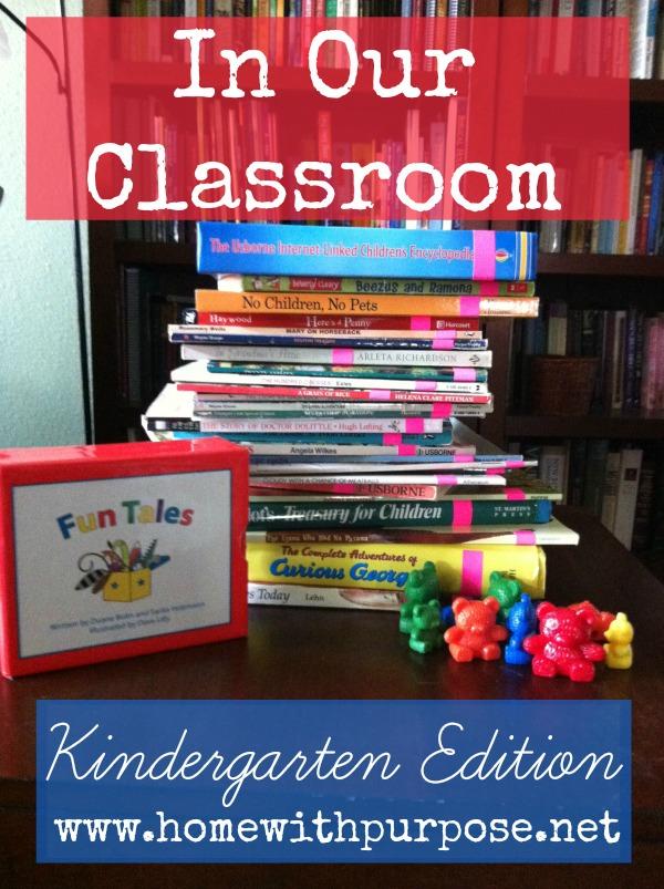 In Our Classroom Kindergarten Edition
