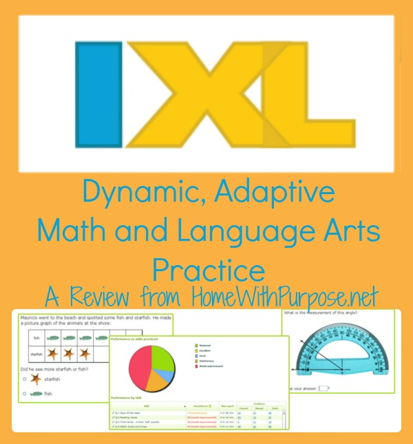 IXL: Dynamic, Adaptive Math and Language Arts Practice