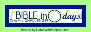 The Bible in 90 Days Challenge - HomeWithPurpose.net