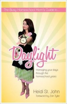 The Busy Homeschool Mom's Guide to Daylight - A Review from HomeWithPurpose.net