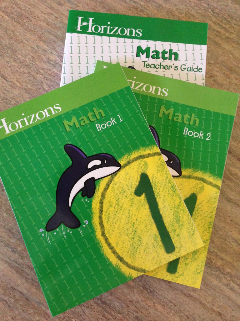 Horizons Math 1st Grade Set - HomeWithPurpose.net